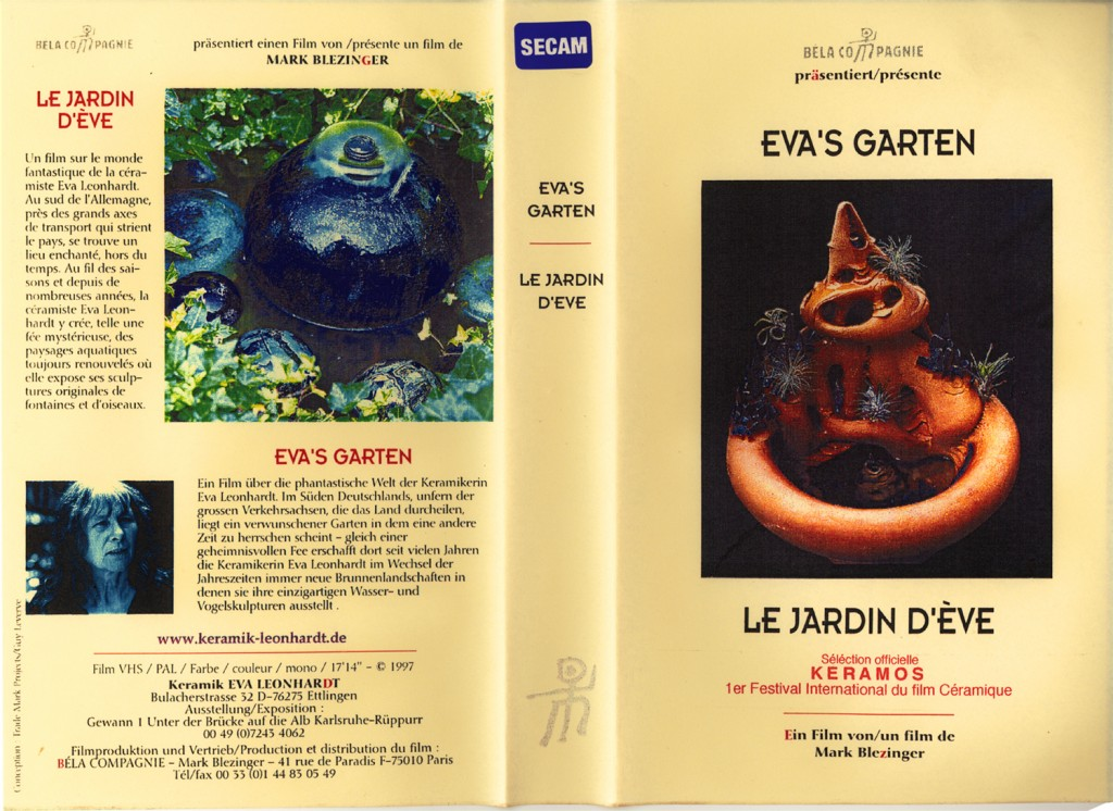FILM: LE JARDIN D'EVE / EVA'S GARTEN