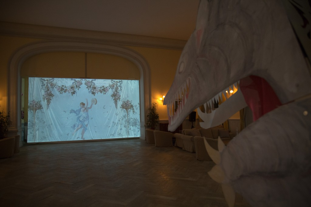Dragon de projection