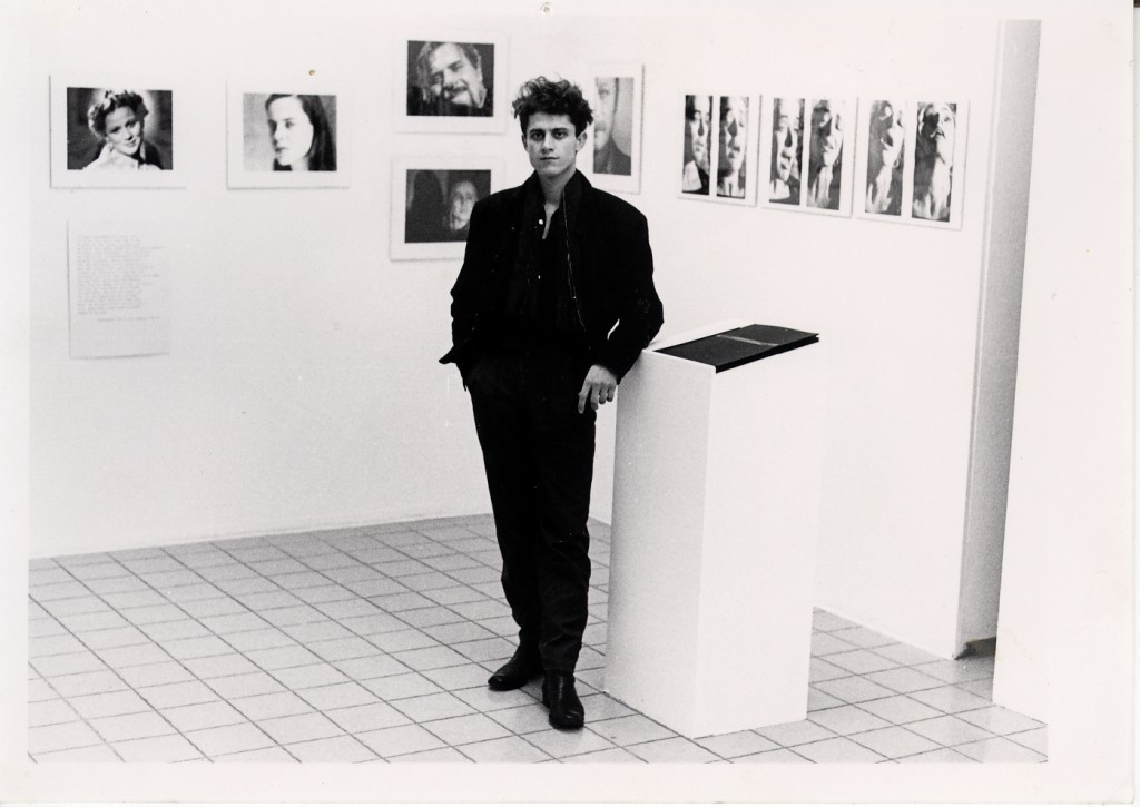 Mark Blezinger, first exhibition photo, Berlin date
