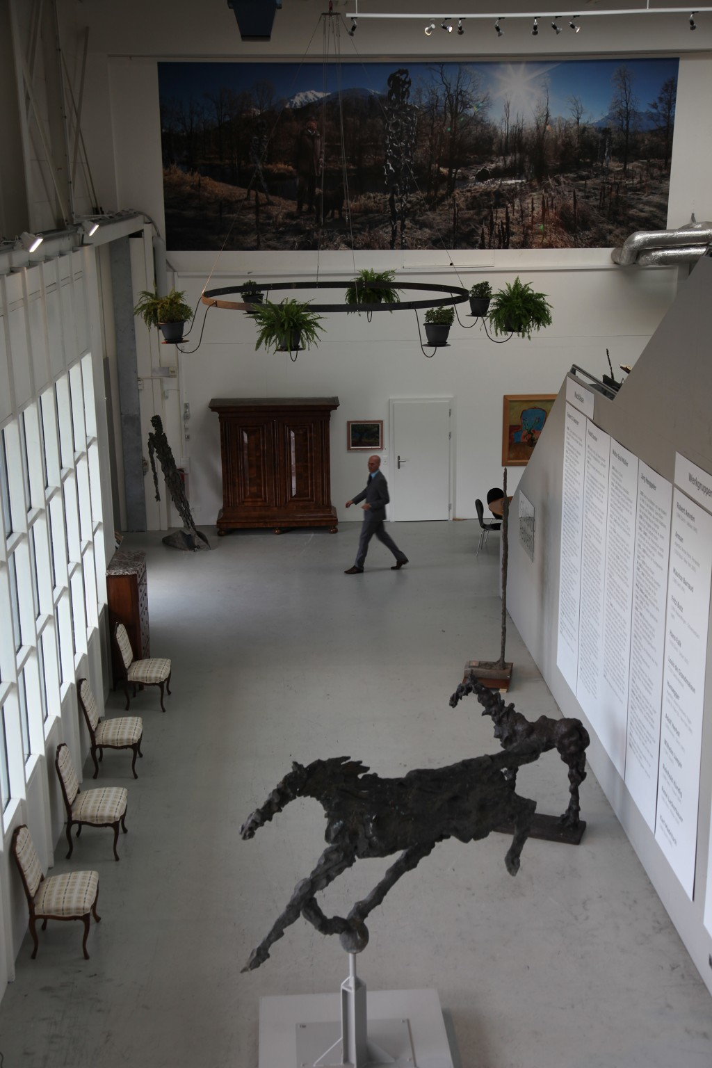 Ausstellung Pederetti